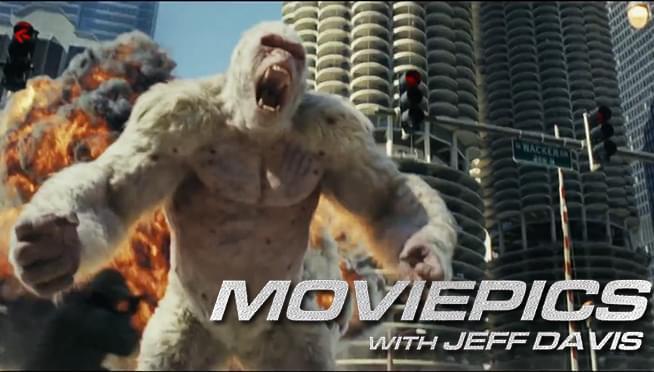 VIDEO: Rampage storms into theaters – MOVIEPICS with Jeff Davis (April 14)