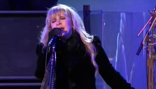 Stevie Nicks may be the first woman to be a two-time Hall of Fame inductee