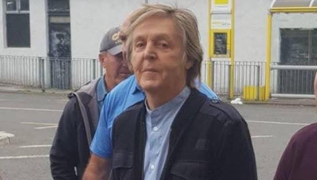 Paul McCartney Got Back To Where He Once Belonged On Saturday June 9th When And Comedian James Corden Were Spotted Filming Around The Former Beatles