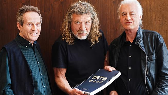 Led Zeppelin teases official 50th anniversary photo book