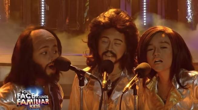 TNT Boys as The Bee Gees