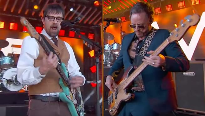 Weezer performs 'Africa' live with Toto member