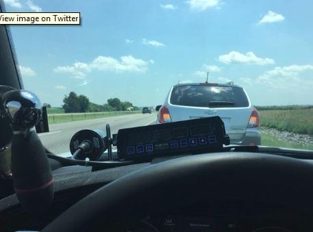 Hero Cop Tweets Slow Drivers Need To Get Out Of The Left Lane