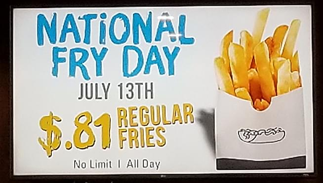 Happy National French Fry Day!!!
