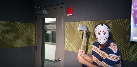 Happy Friday the 13th! Dave and Producer Dan did their best to scare the crap out of me this morning…but I ruined it!