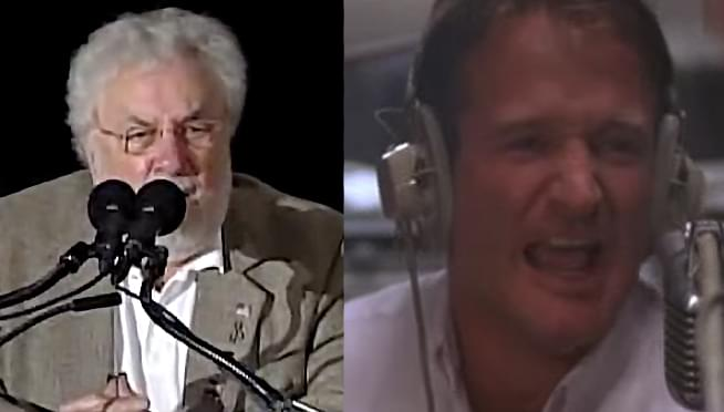 The military radio DJ that inspired Robin Williams character has died