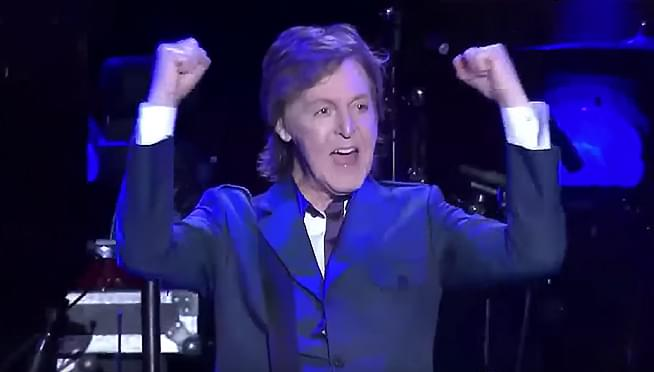 Paul McCartney Rocked The Beatles Legendary Musical Headquarters Londons Abbey Road Studio Number Two Yesterday July 23rd For A Private Concert