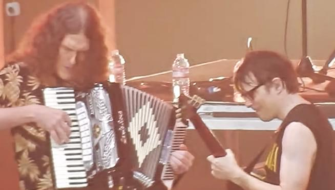 Weezer and Weird Al team up to for live cover of Toto's Africa