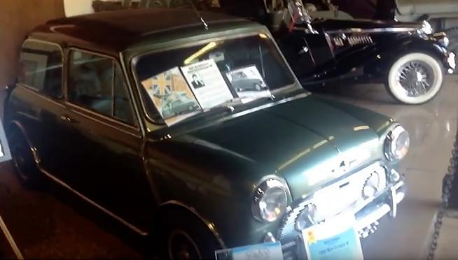 Paul McCartney's Mini Cooper will be sold at Auction in Illinois