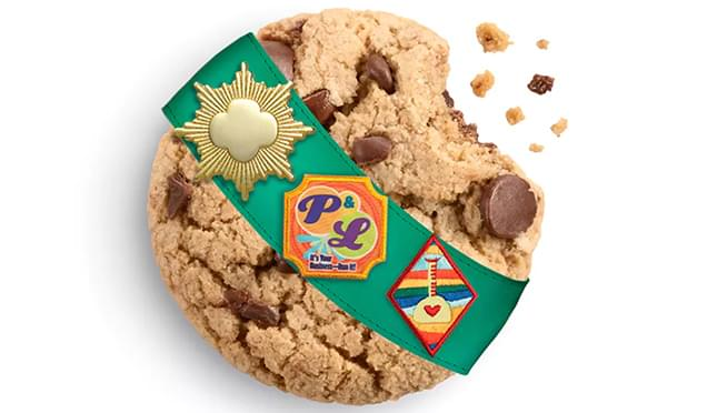 Caramel Chocolate Chip is the newest Girl Scout cookie