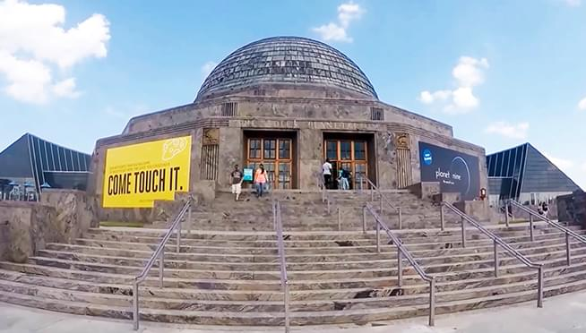 Free days to Illinois residents at the Adler Planetarium this week