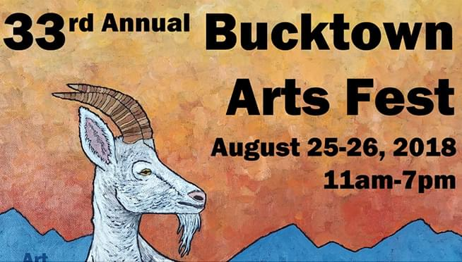 Annual Bucktown Arts Fest returns this weekend