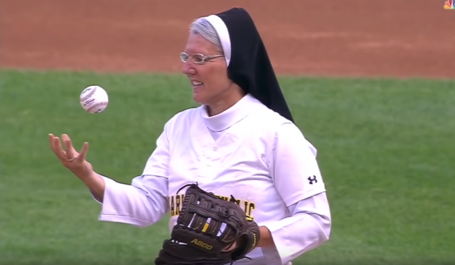 Sister Mary Jo now has her own bobblehead!!