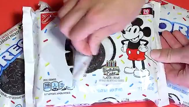 Oreos to release birthday cake flavored cookies to celebrate Mickey Mouse's 90th anniversary