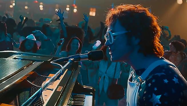 Elton John releases new single with biopic star