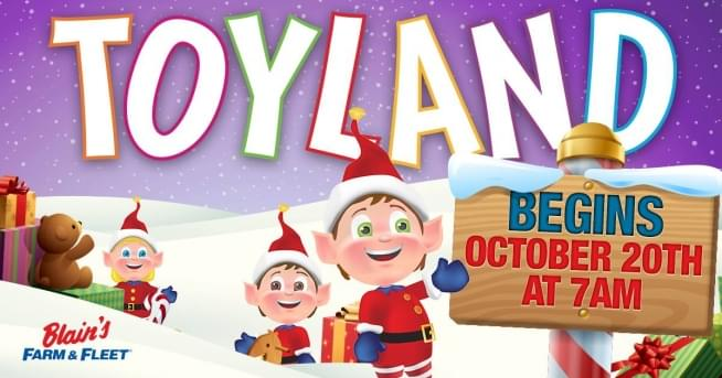 10/20/18 – BLAIN'S FARM & FLEET TOYLAND with DAVE FOGEL