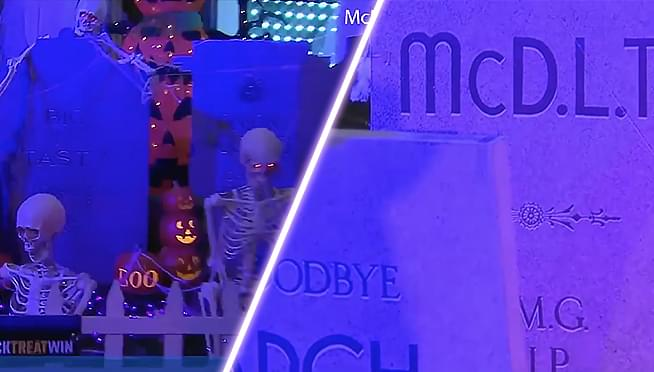 Former Rock n' Roll McDonald's gets dressed up for Halloween