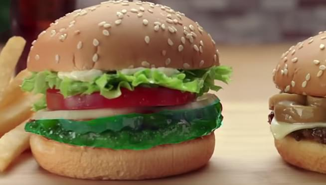 Burger King's new green sandwich will literally give you nightmares