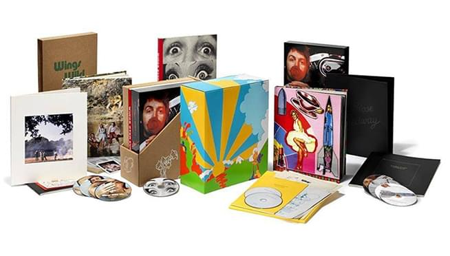 New Paul McCartney & Wings deluxe box sets coming