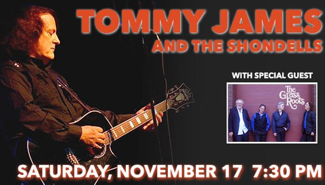 11/17/18 – Tommy James and The Shondells