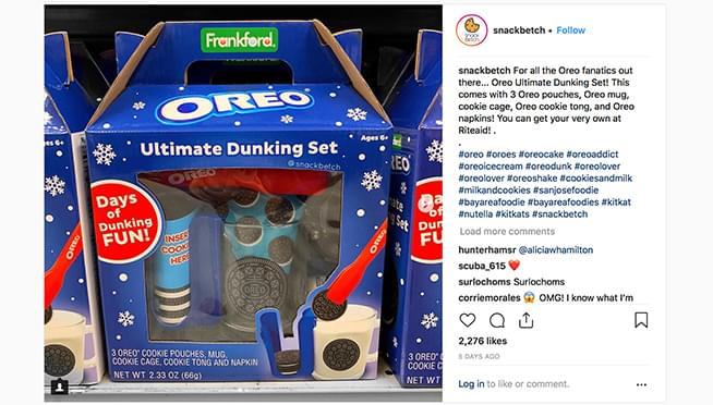 Oreo releases Ultimate Dunking Set