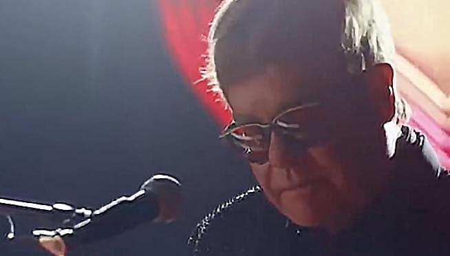 Elton John's life-spanning Christmas Commercial is here