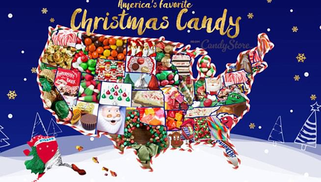 And, Illinois' favorite holiday candy is…