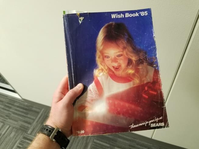 Let's Check Out The Sears Wish Book from 1985!   94 7 WLS