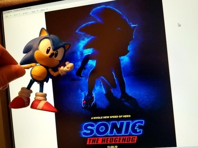 First Look At Sonic The Hedgehog's New Legs
