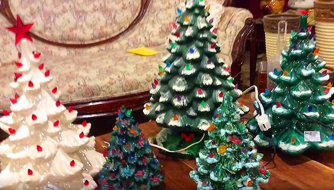 Vintage ceramic trees are making a comeback