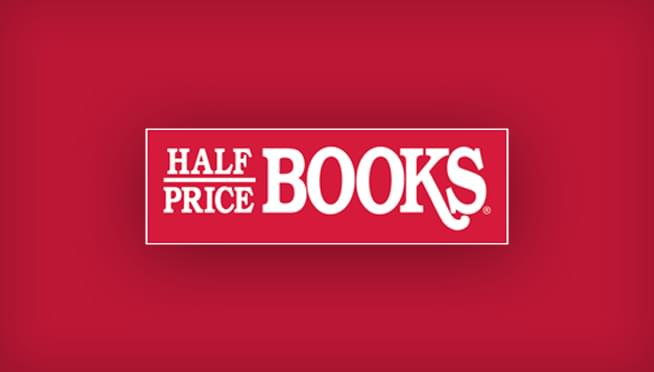 Win a gift card to Half Price Books!