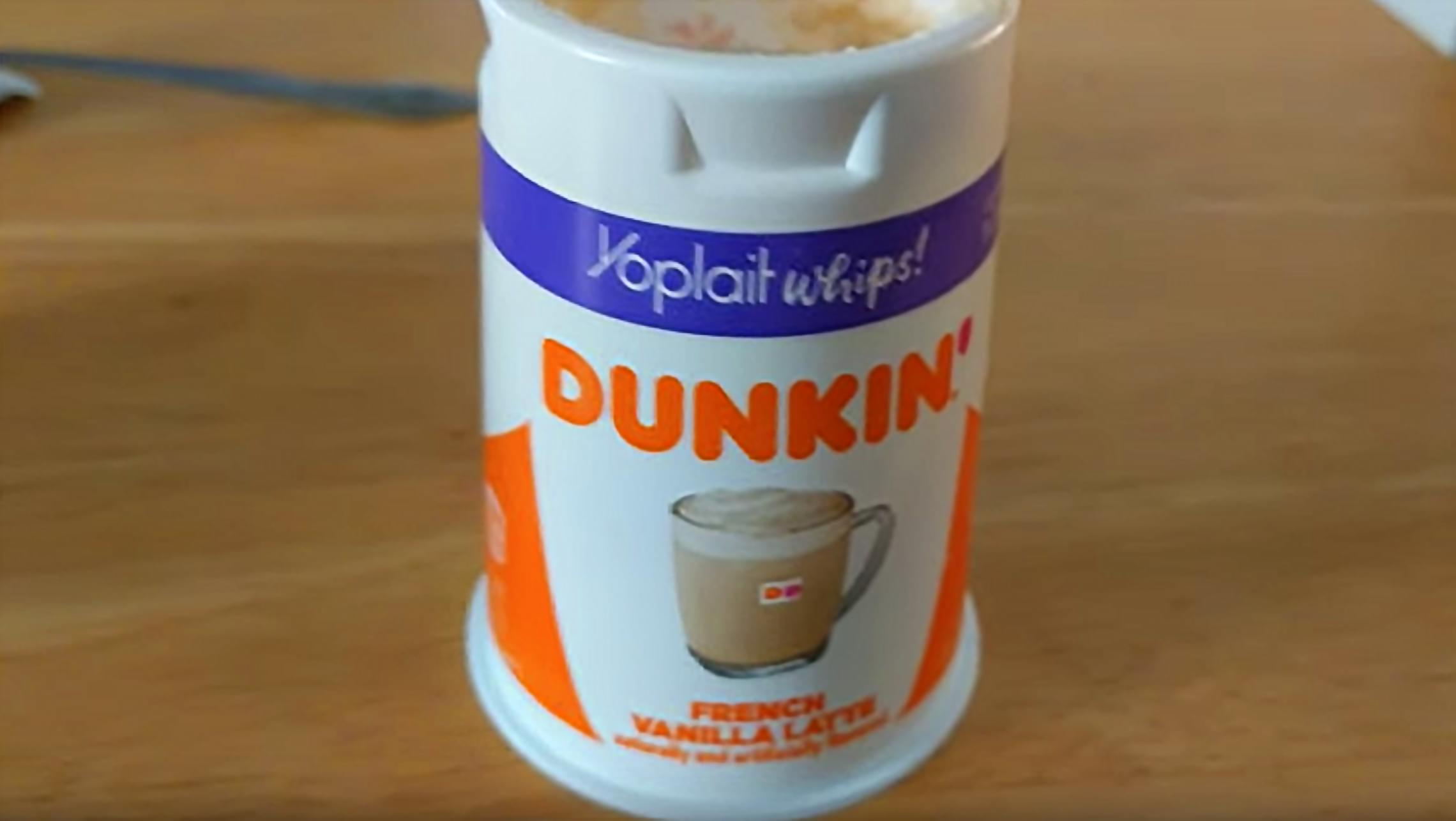 Yoplait's new Dunkin'-flavored yogurts are inspired by your favorite doughnuts