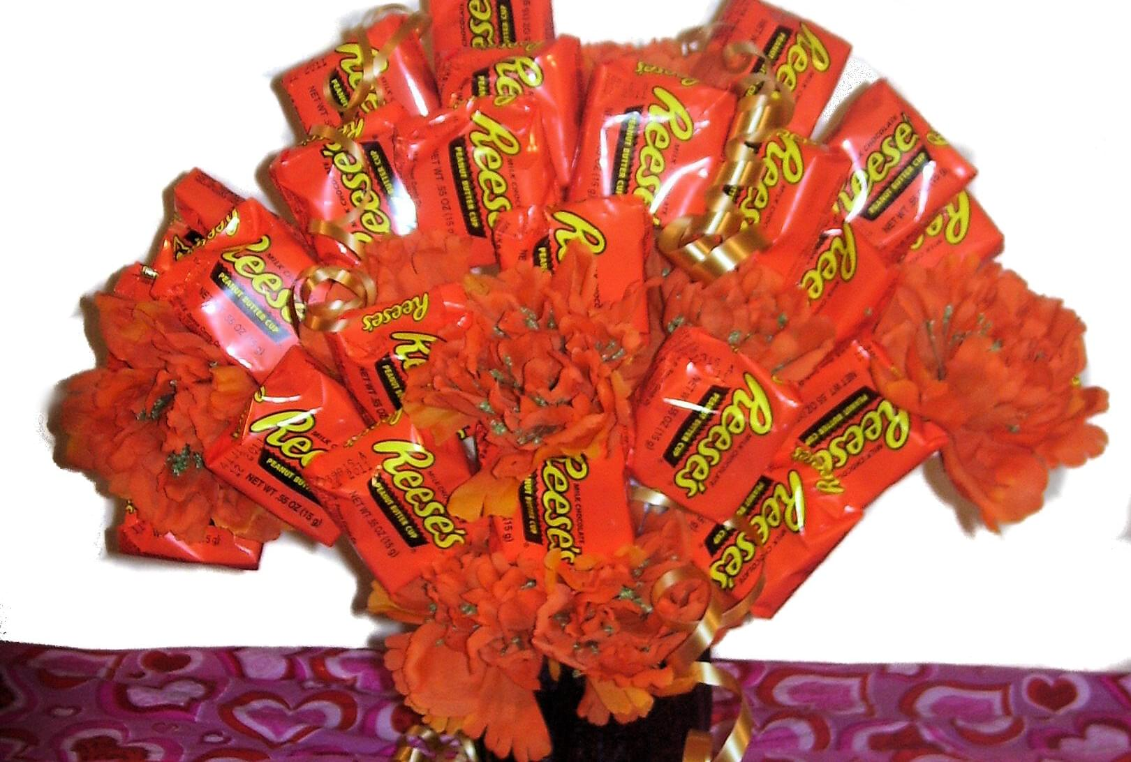 Walmart is selling reese's bouquets for valentine's day