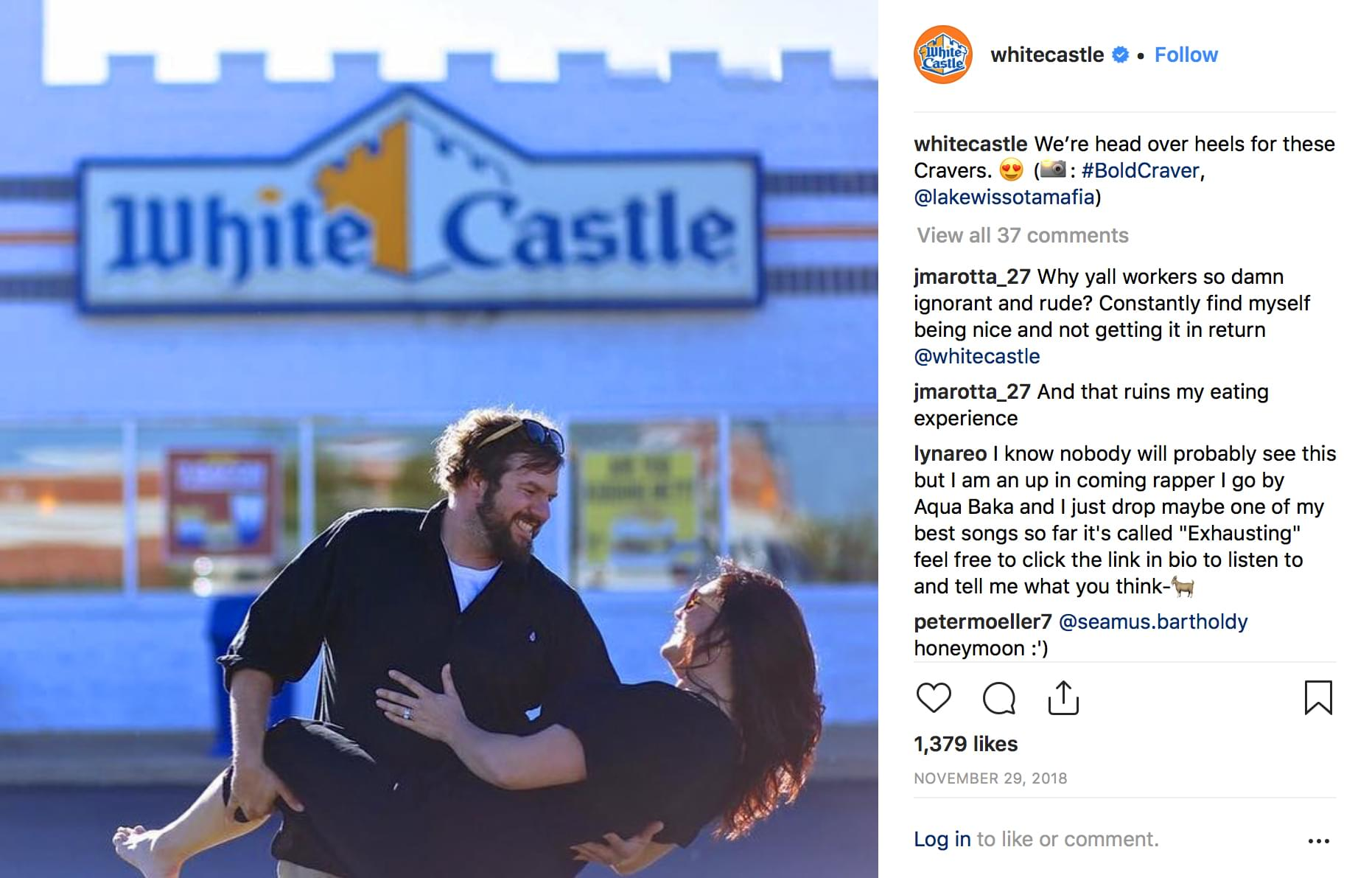 White Castle Is now taking Valentine's Day reservations