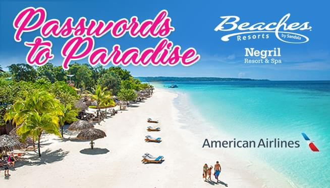 Passwords to Paradise: Beaches Negril Resort & Spa