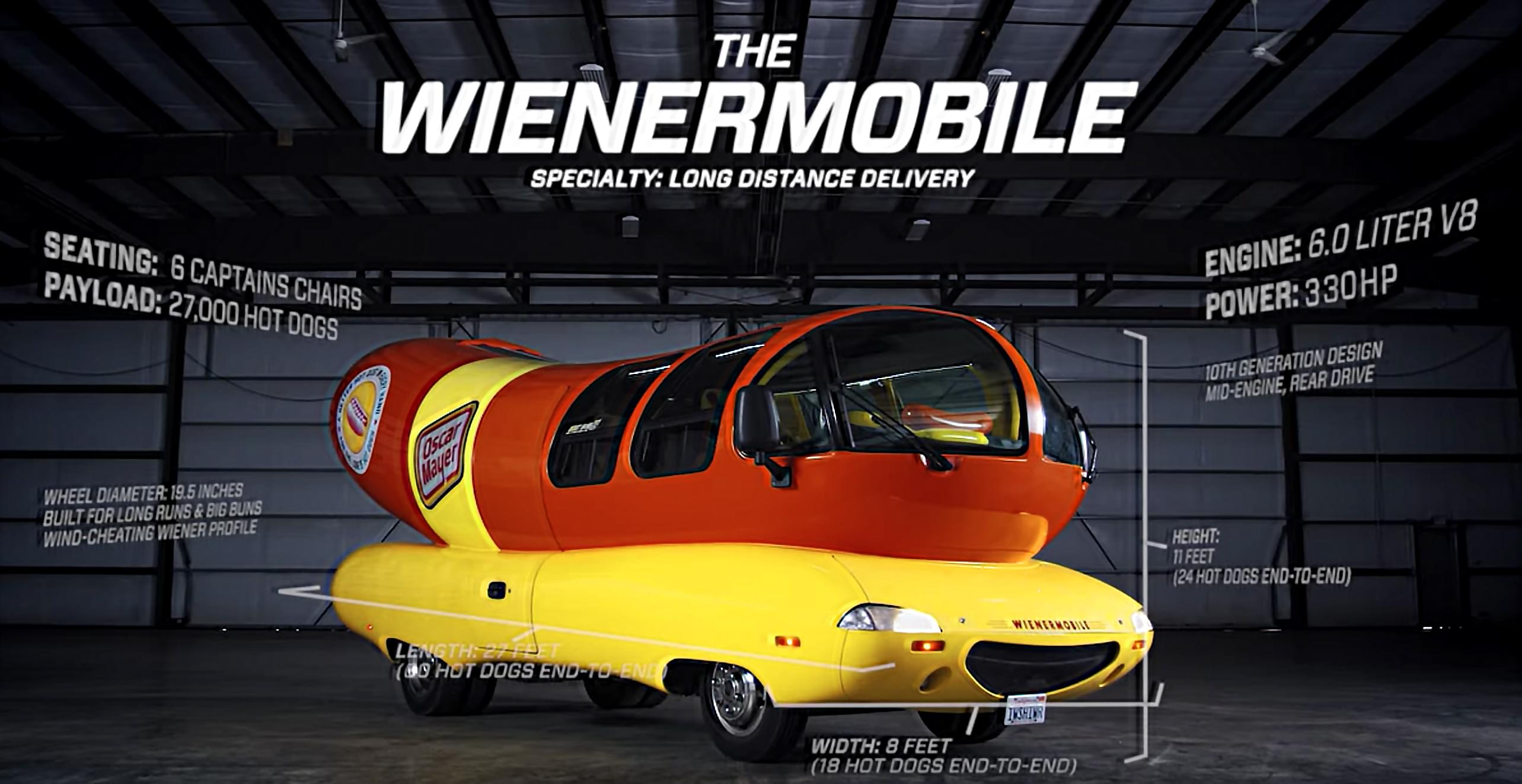 Oscar Meyer is seeking a new 'Wienermobile' Driver