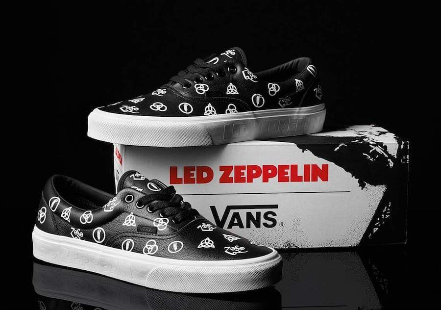 Led Zeppelin partners with Vans for new official sneakers