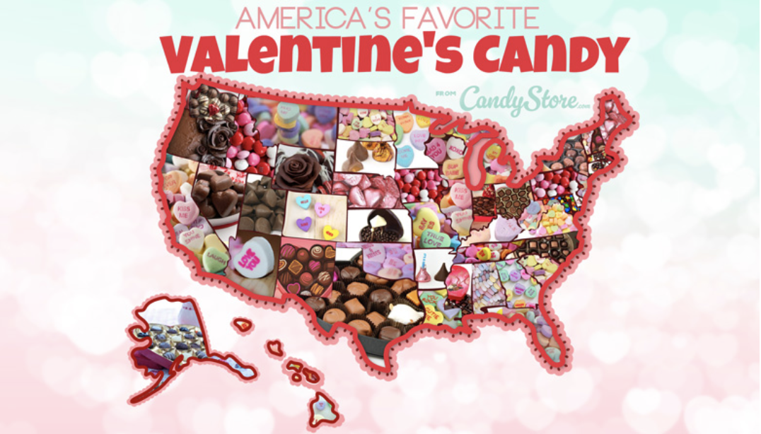 Illinois' favorite Valentine's Day Candy is…