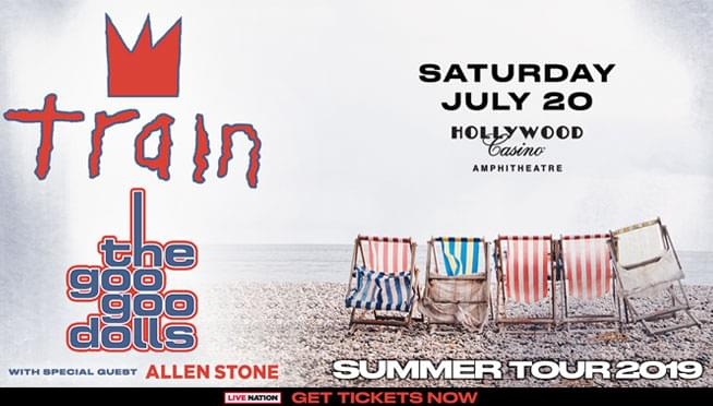 7/20/19 – Train & The Goo Goo Dolls