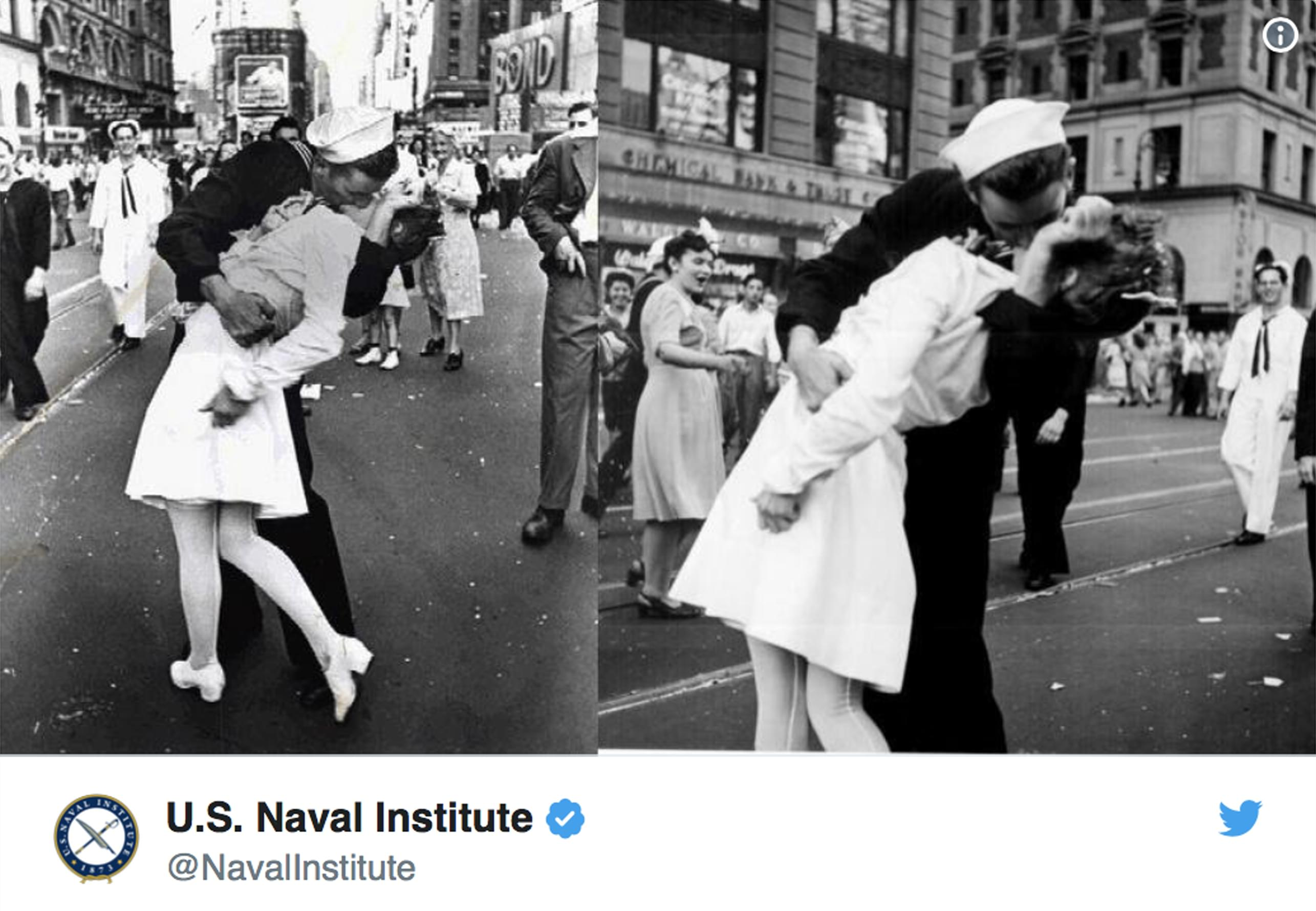 R.I.P. George Mendonsa, the sailor from that famous post WW2 photo