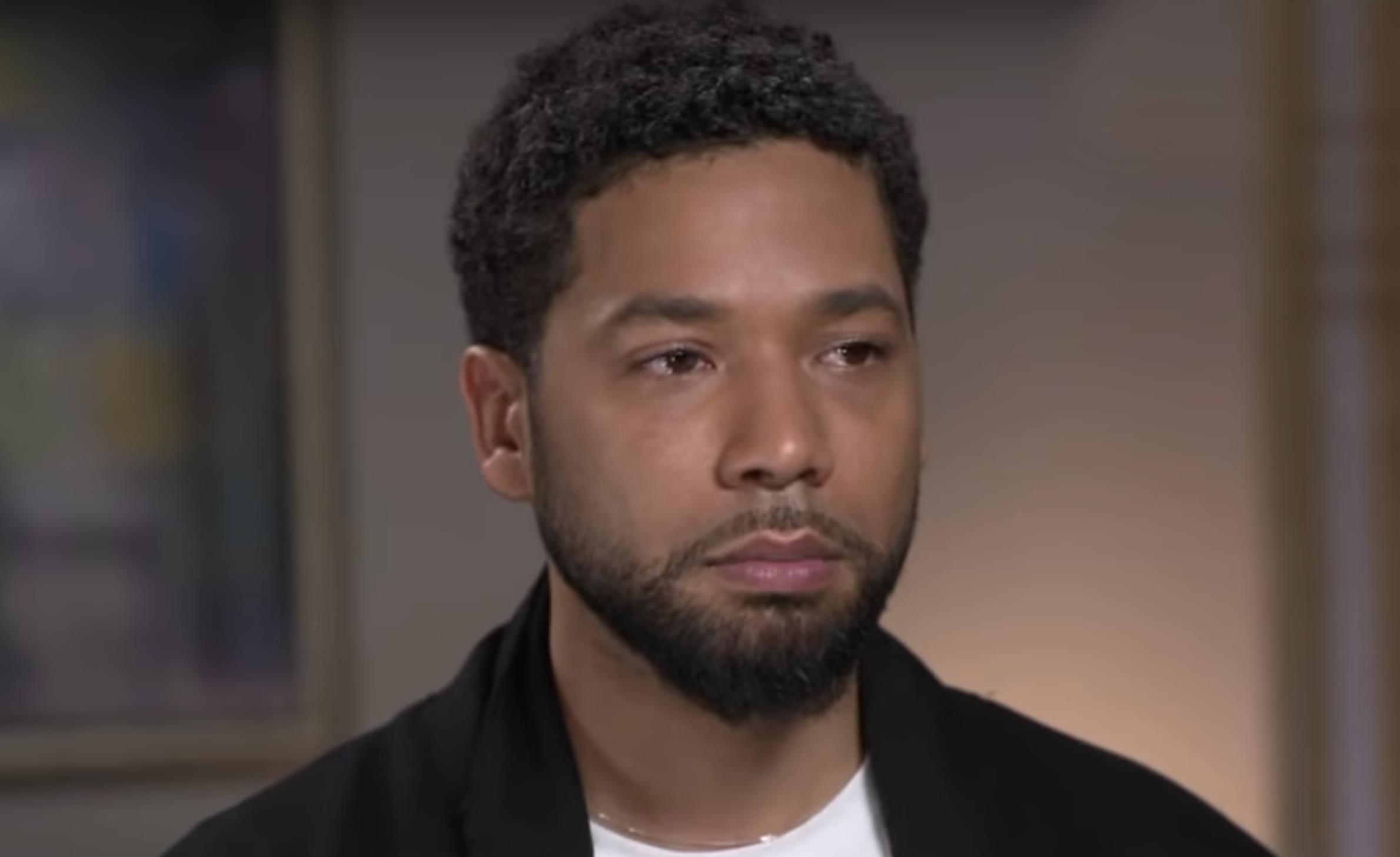 Jussie Smollett officially charged for filing false police report