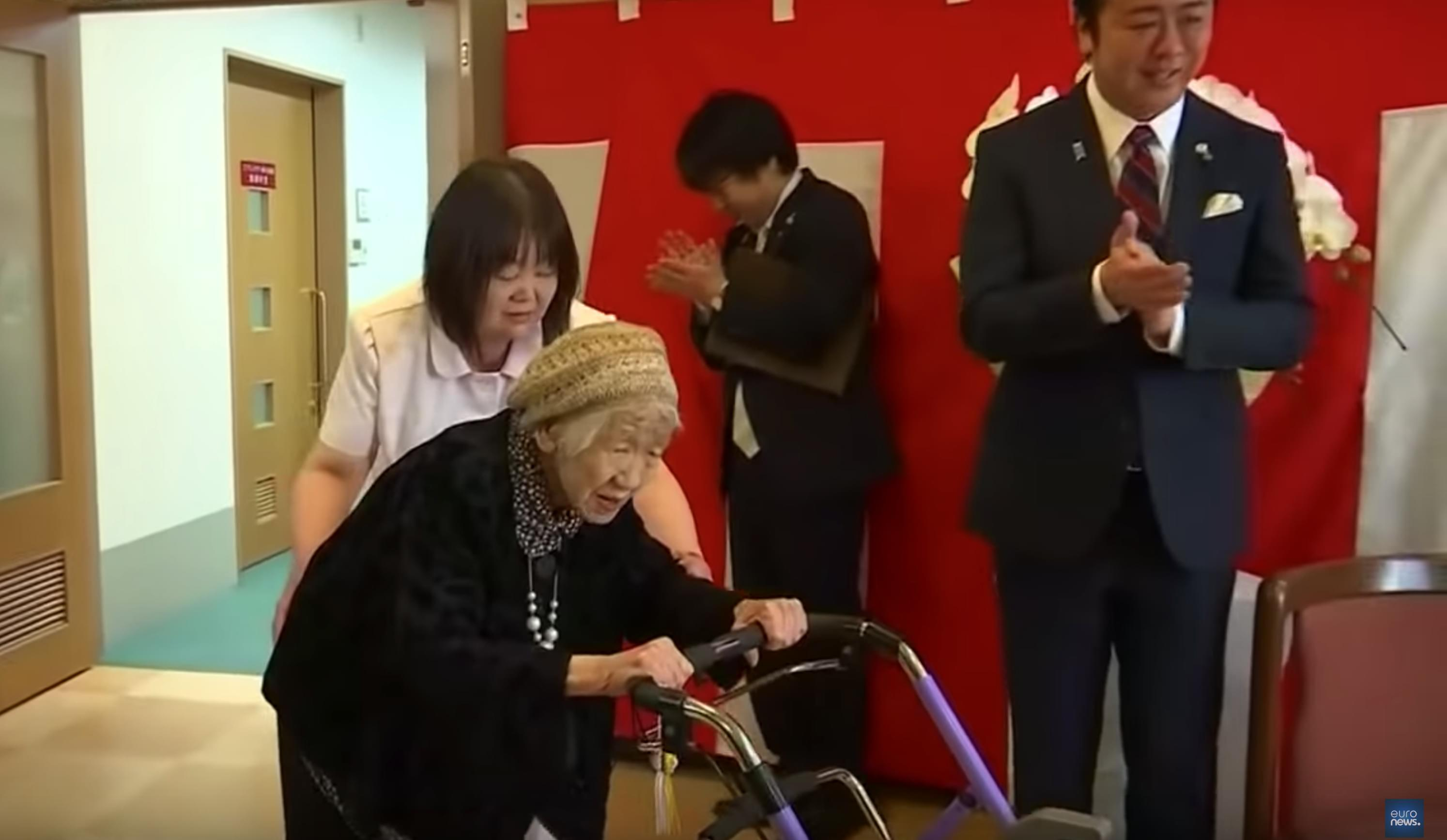 116-year-old Japanese woman recognized by Guinness as world's oldest person