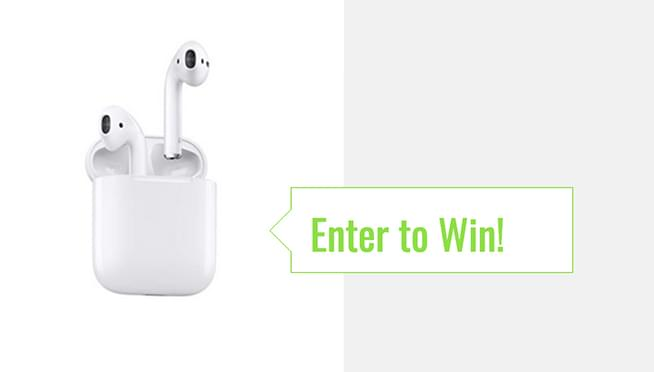 Win a pair of Apple Airpods!