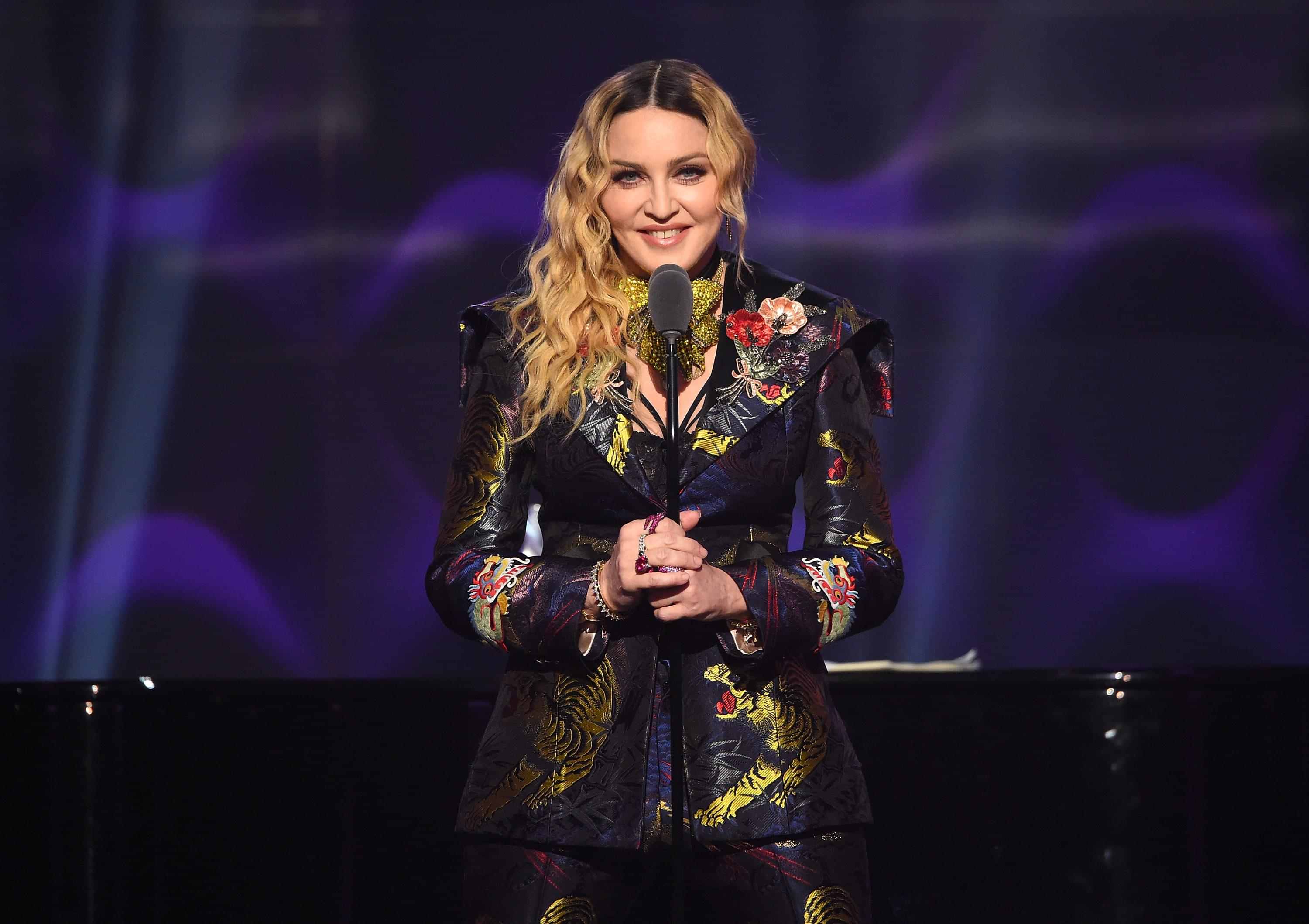 Madonna teases new upcoming music on Twitter