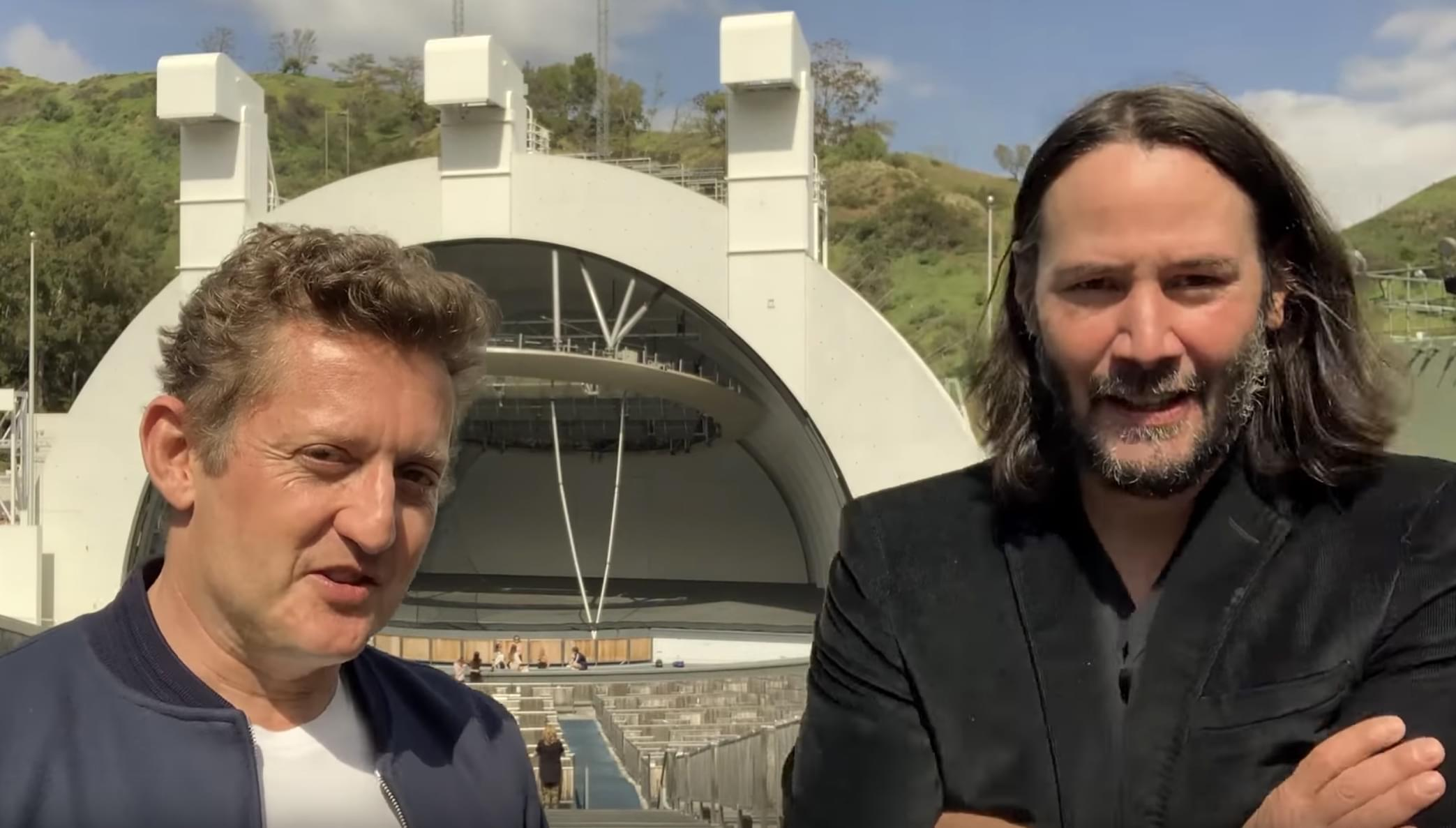 VIDEO: Keanu Reeves & Alex Winter announce Bill & Ted 3!!!