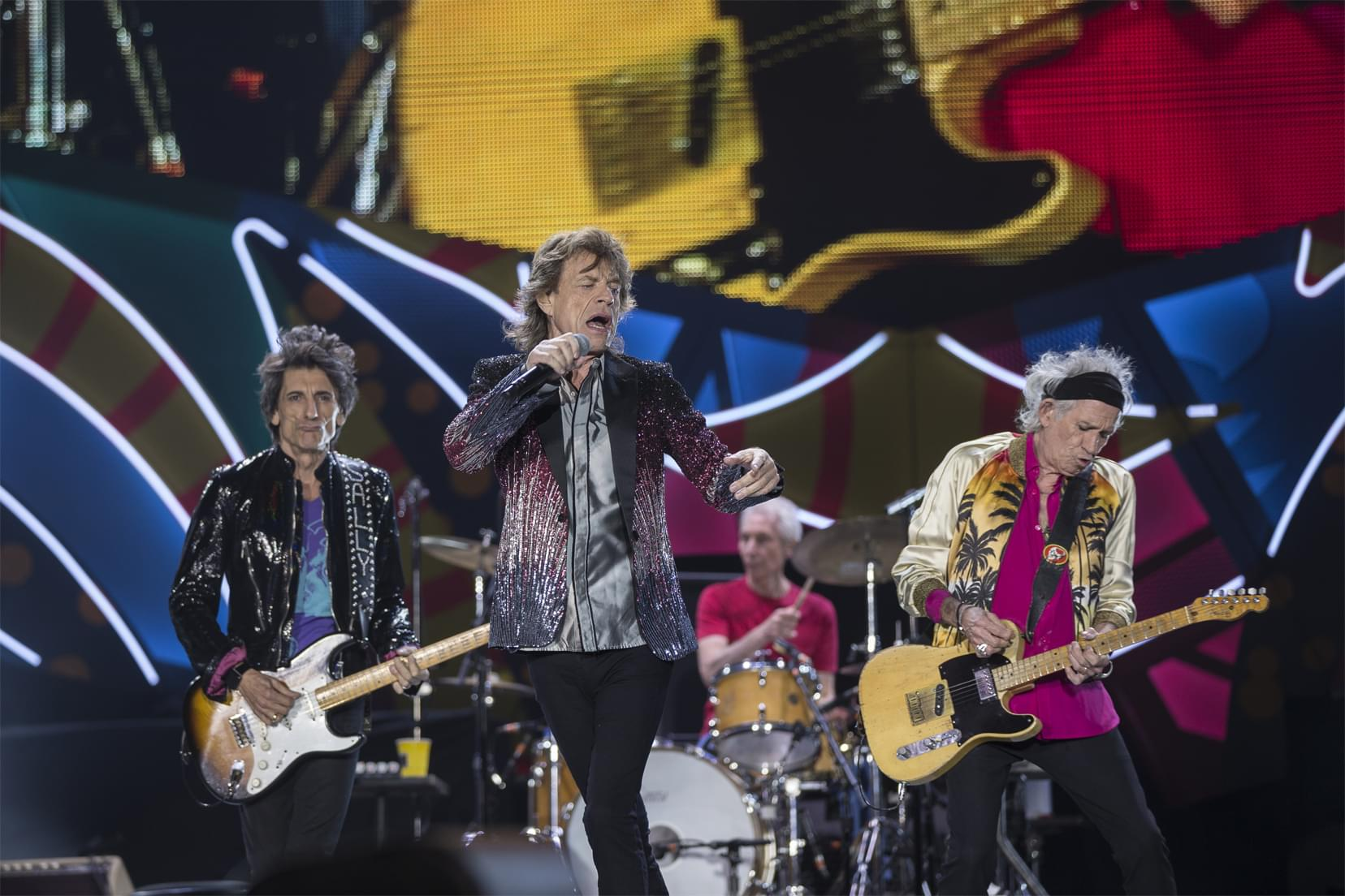 The Rolling Stones kick off their tour in Chicago in June