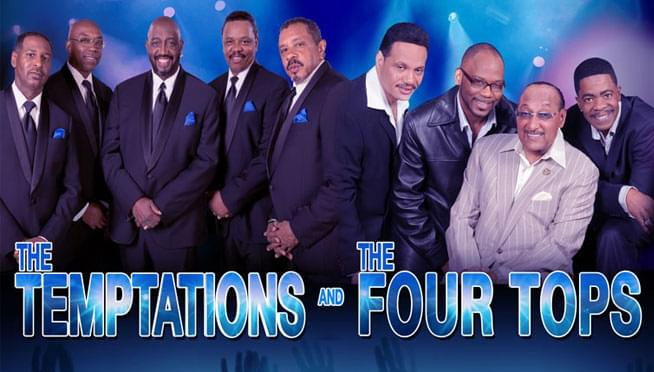 5/5/19 – The Temptations and The Four Tops