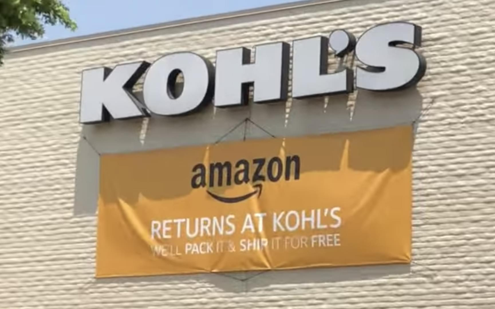 Kohls To Accept Amazon Returns At All Stores 947 Wls Wls Fm
