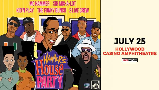 7/25/19 – Hammer's House Party