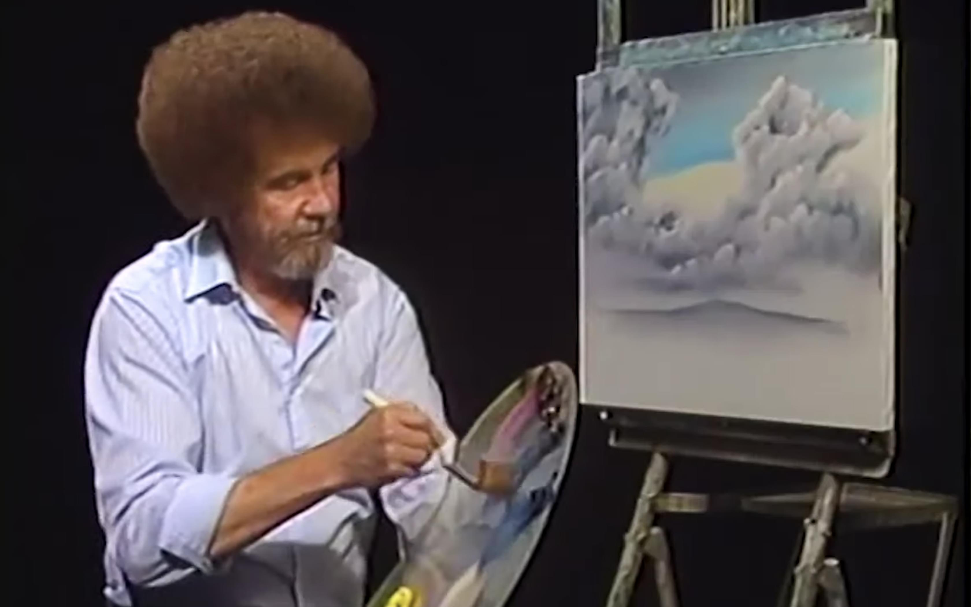 VIDEO: Where did all those Bob Ross paintings end up after his shows?